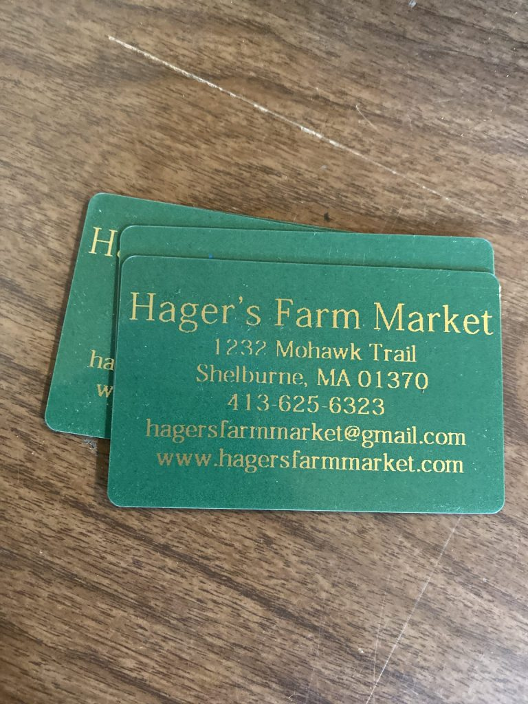 gift certificates  hager's farm market